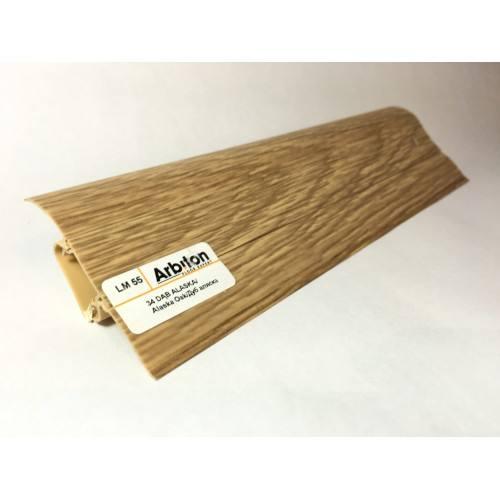 Plinta Pvc Canal Cablu Stejar Alaska 34-500x500