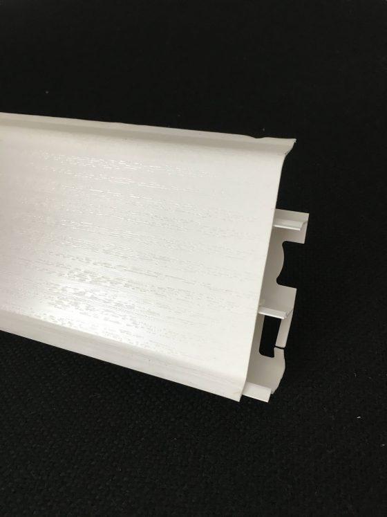 Plinta Systema pvc 80mm, alb mat 2