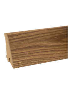 plinta mdf M 80 mm decor stejar inchis