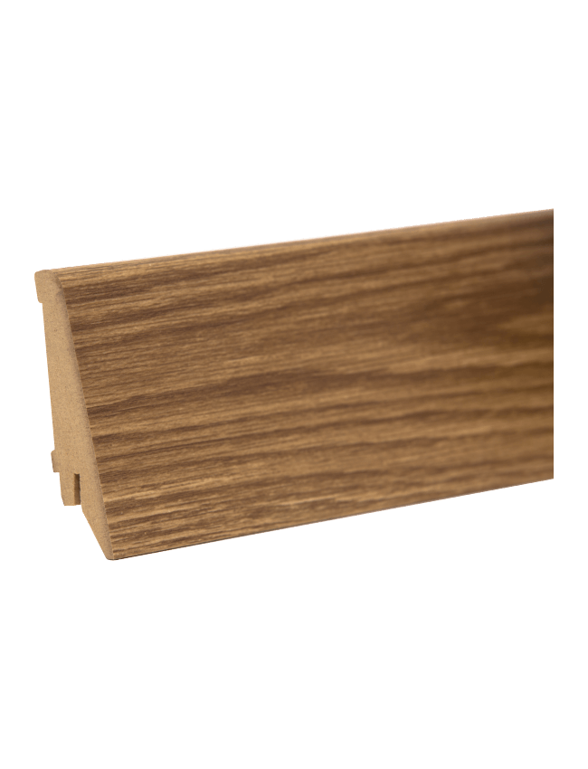 plinta mdf M 80 mm decor stejar inchis