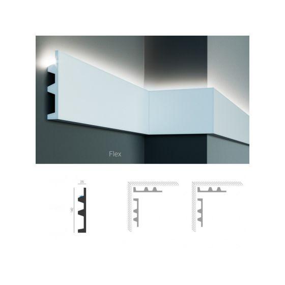 Profil pentru banda LED din poliuretan flexibil KF505F
